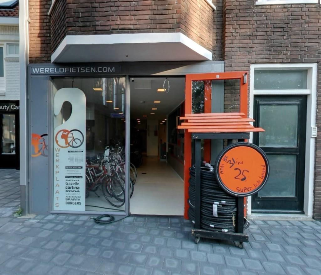 Wereldfietsen Zwolle is geopend voor u